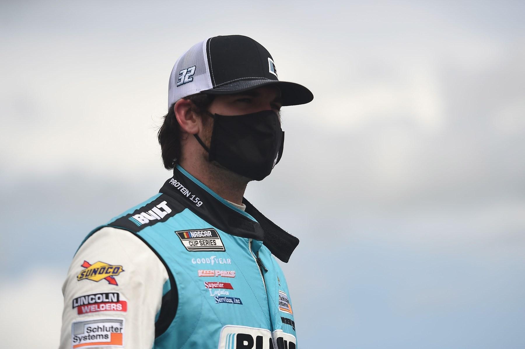 "NASCAR's Corey LaJoie Racing With ""Trump 2020"" Livery"