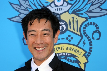 Grant Imahara arrives for The Geekie Awards 2014 held at Avalon on August 17, 2014 in Hollywood, California.  (Photo by Albert L. Ortega/Getty Images)