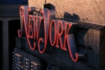 New York Magazine Logo on Building Exterior (Photo by James Leynse/Corbis via Getty Images)