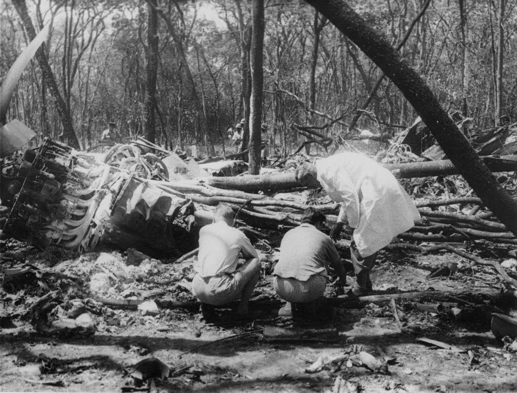 Dag Hammarskjold Crash