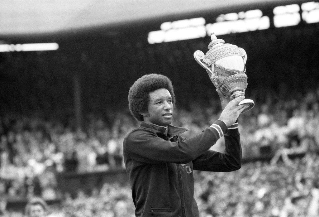 Arthur Ashe Wimbledon 1975