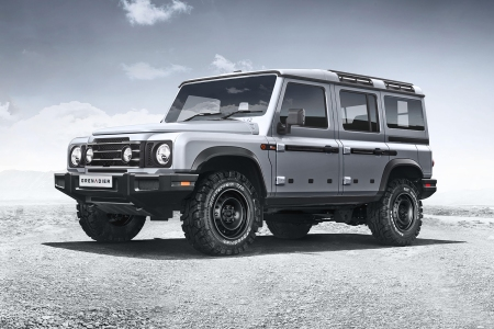 Ineos Automotive Grenadier 4x4 inspired by the Land Rover Defender