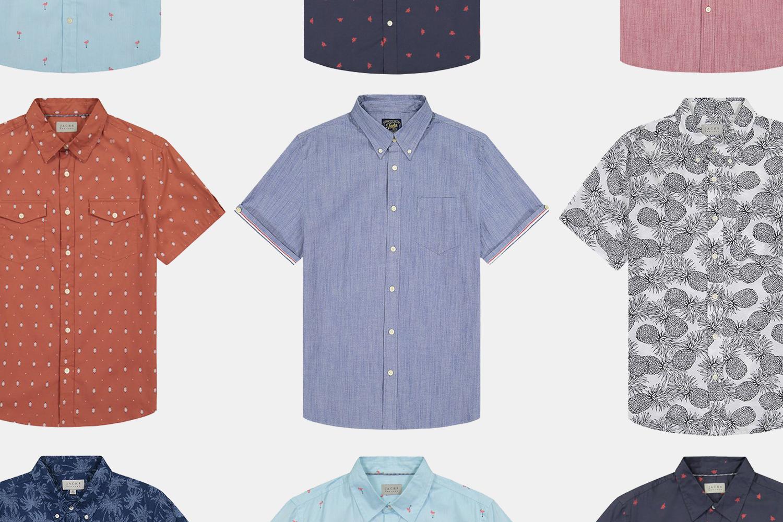 Jachs NY men's short-sleeve summer shirts sale
