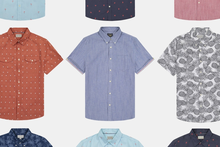 Jachs NY men's short-sleeve summer shirts sale