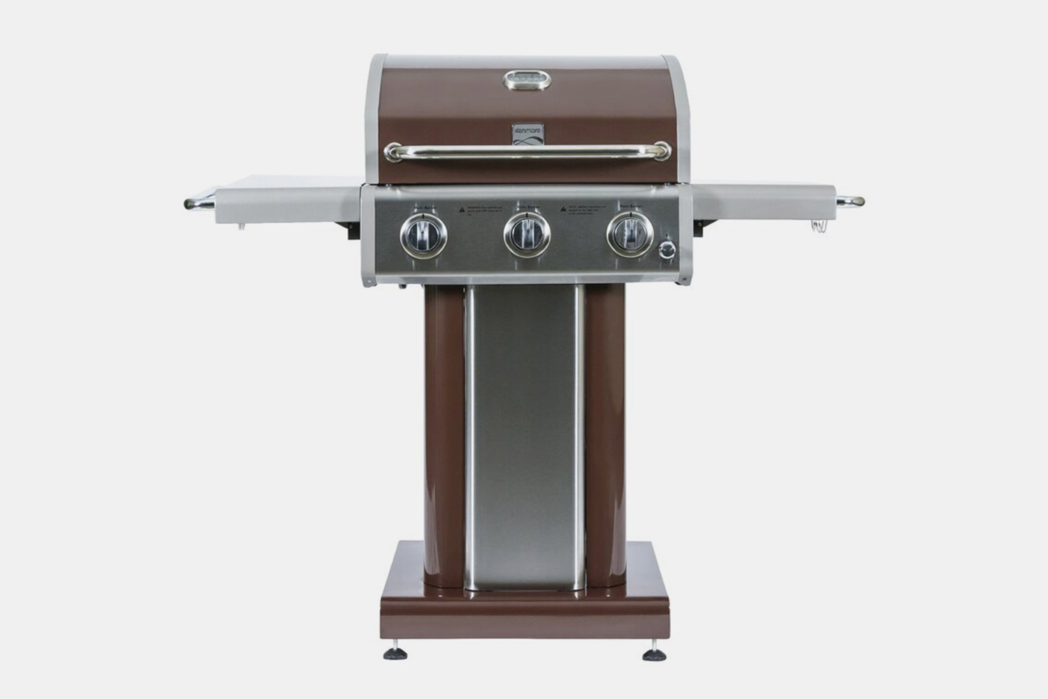 Gas Grill: Kenmore 3-Burner Convertible Grill