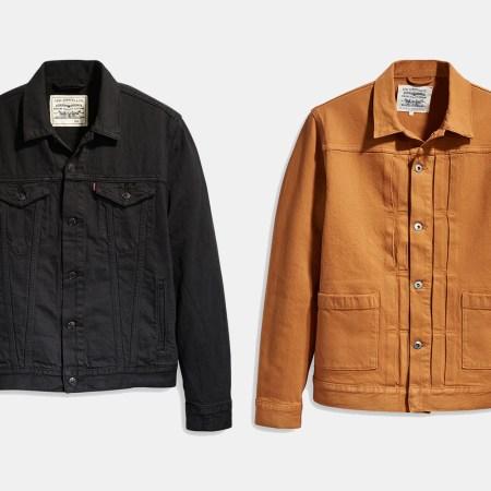 Levi's WellThread and Type 2 Worn Trucker Jackets on sale