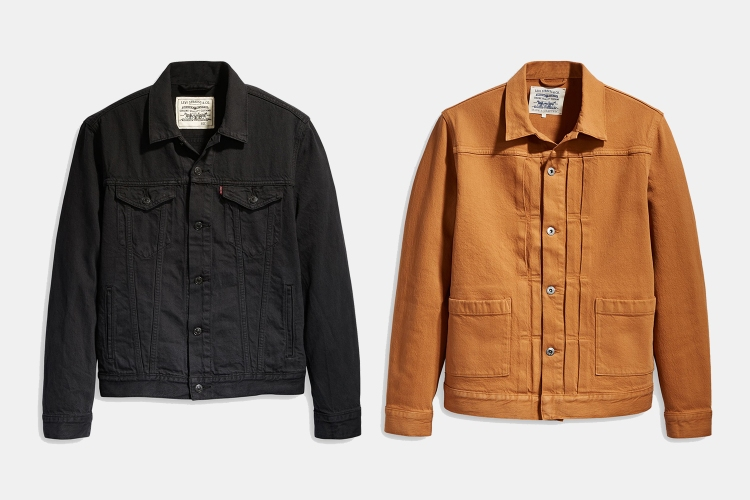 Levi's WellThread and Type 2 Worn Trucker Jackets on sale