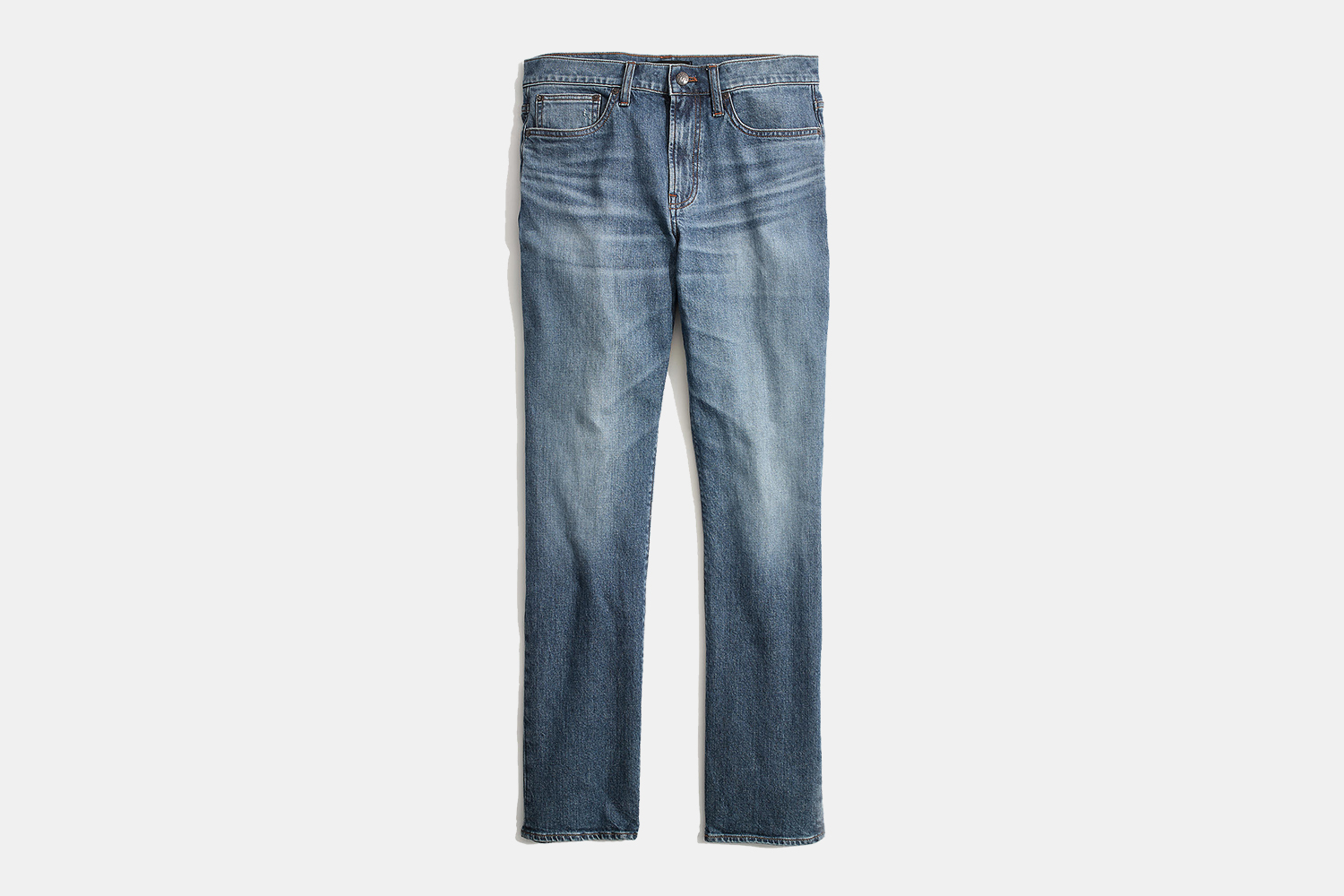 Madewell Men Straight Everyday Flex Jeans: Eco Edition