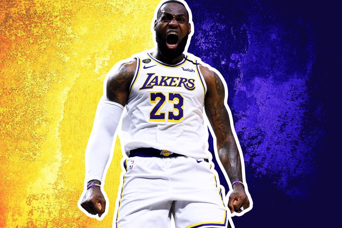 Lebron James and the Los Angeles Lakers are the best the NBA has to offer