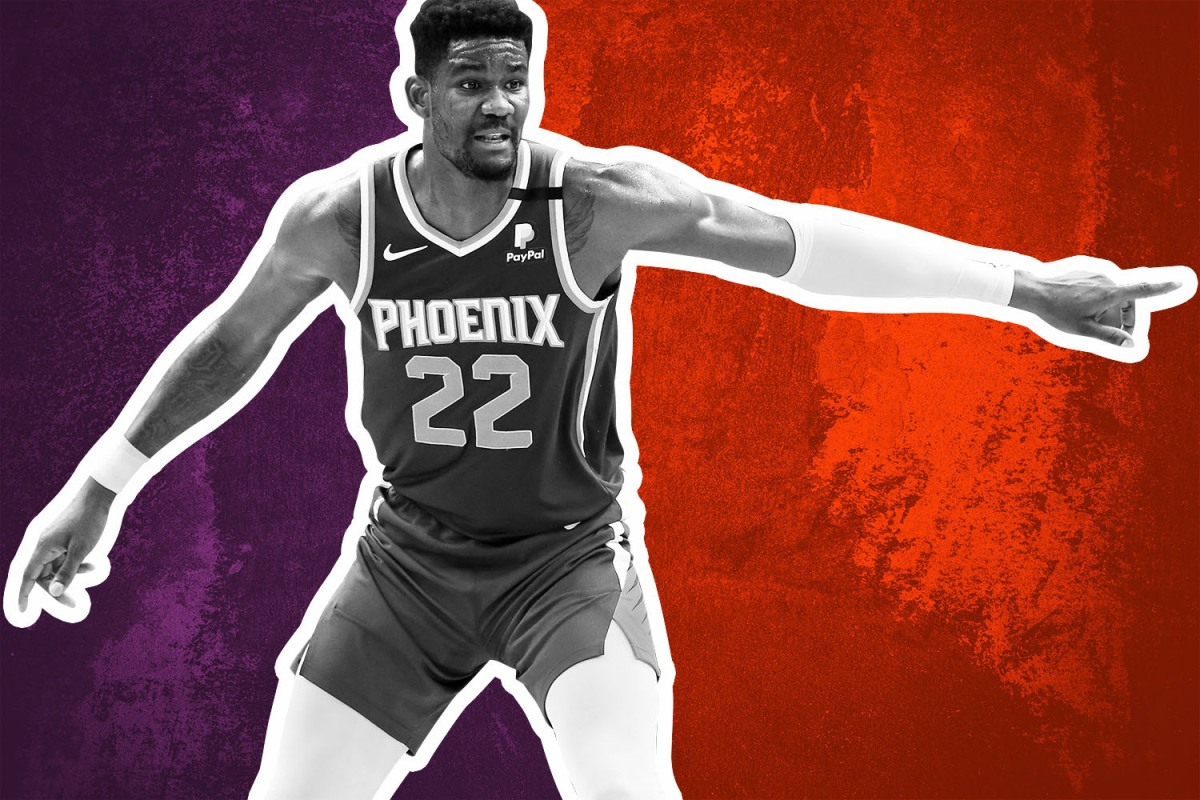 Deandre Ayton is burdened with not just reviving the moribund Suns, but also living up to impossible expectations