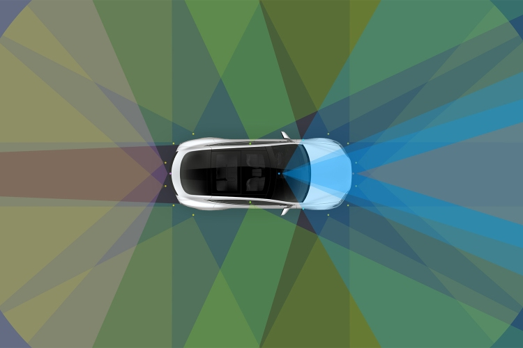 Tesla Autopilot driver assistance and self-driving technology