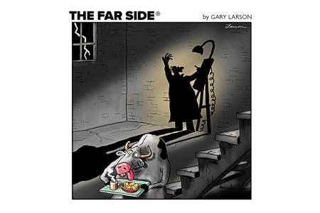 """New """"Far Side"""" cartoons from artist Gary Larson"""