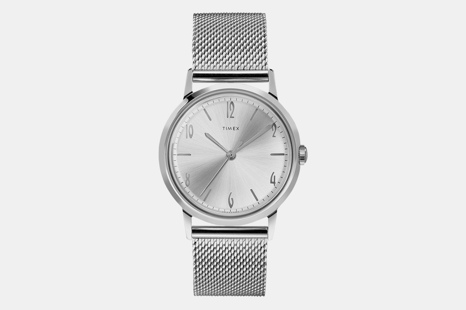 Timex Marlin Hand-Wound 34mm Stainless-Steel Mesh