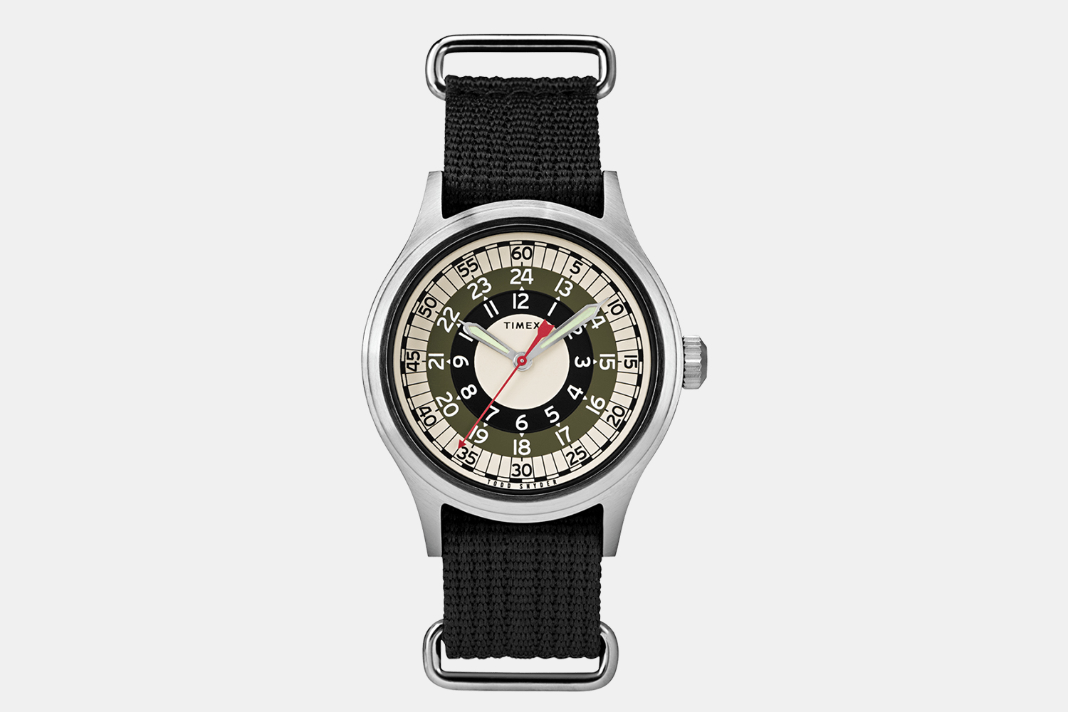 Timex Todd Snyder MOD 40mm Fabric Strap