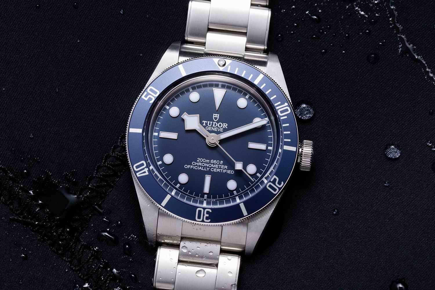 Tudor Navy Blue Black Bay Fifty-Eight Watch