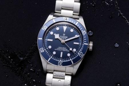 Tudor Navy Blue Black Bay Fifty-Eight Watch
