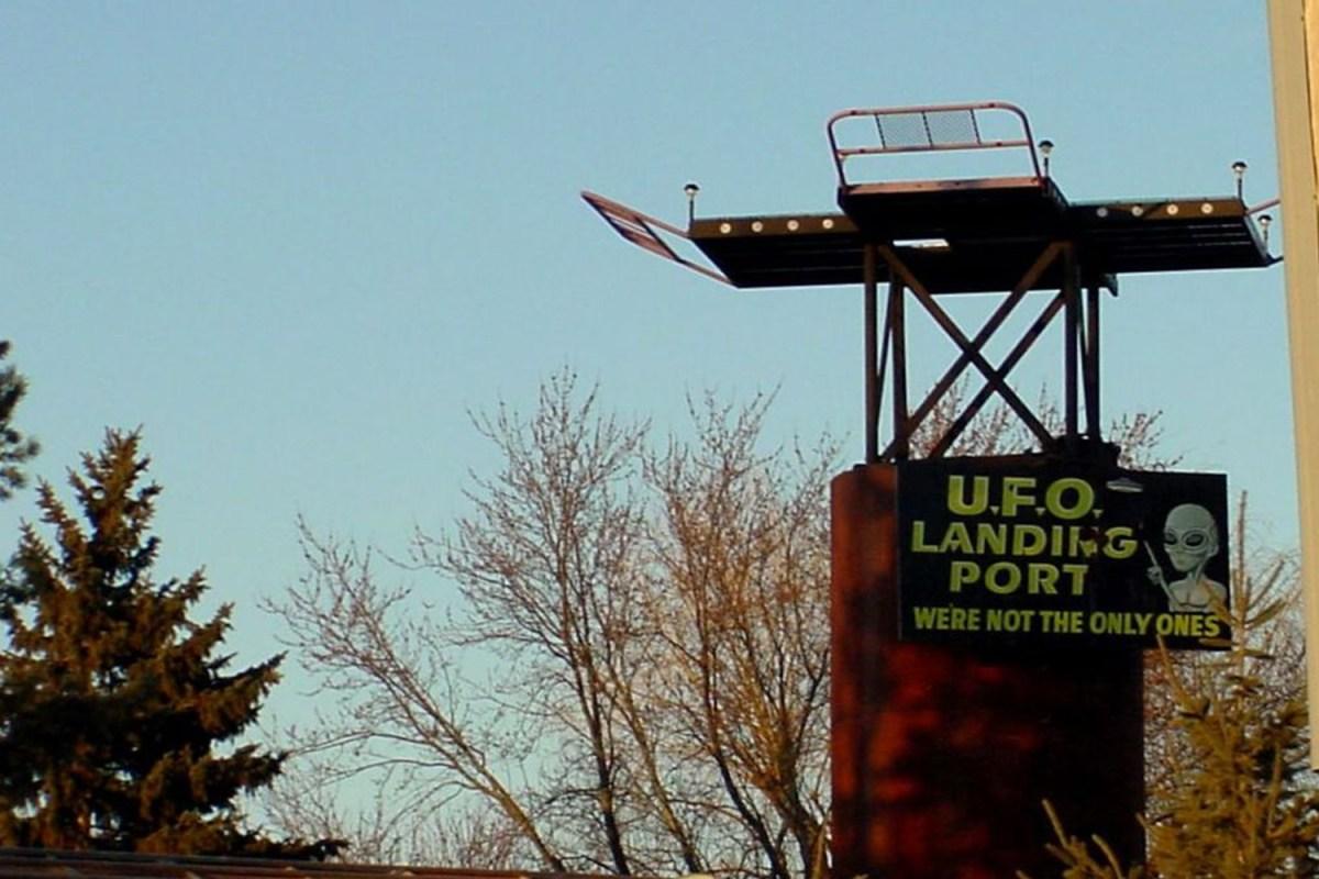 UFO landing port