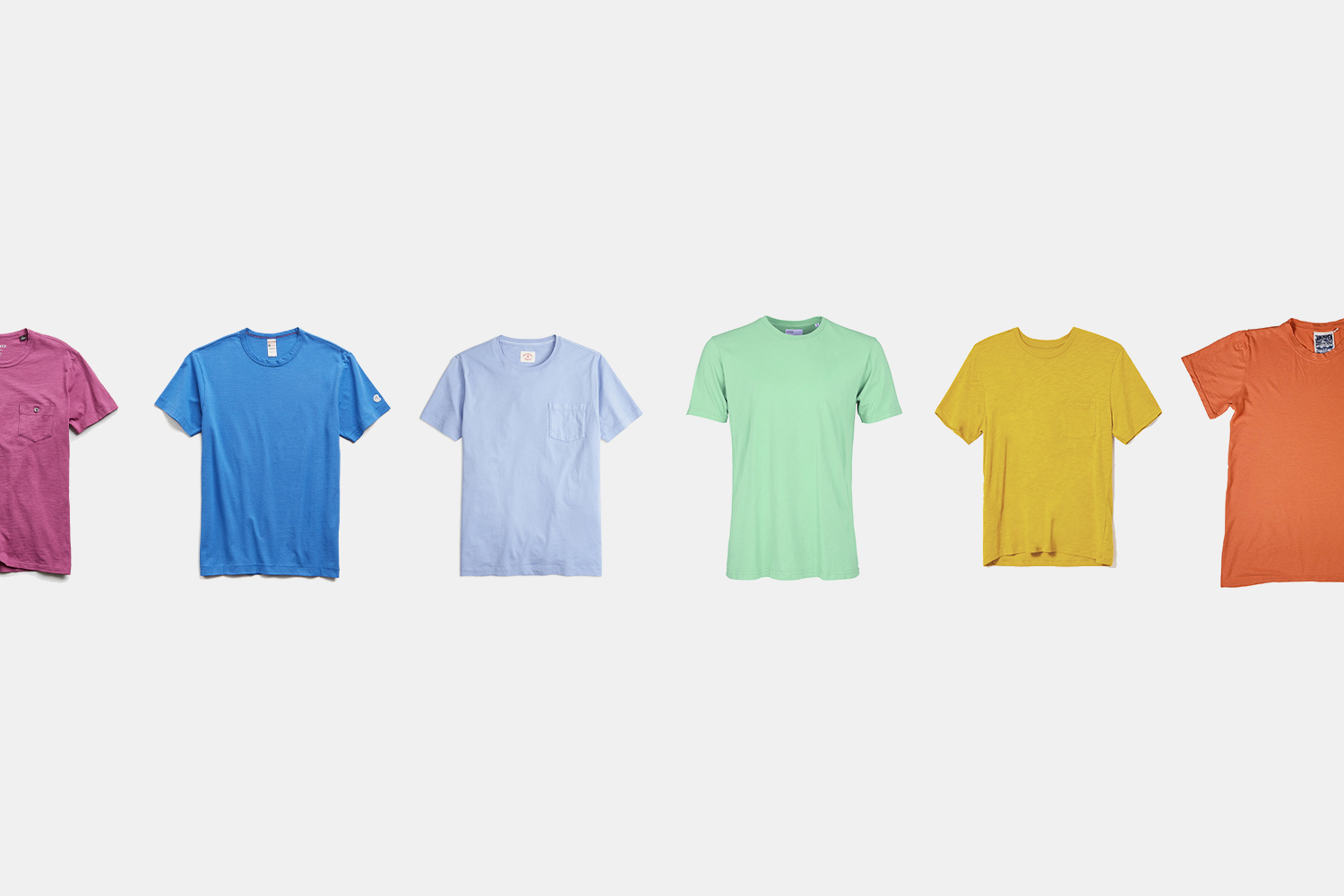 Searching for the Perfect Colored T-Shirt