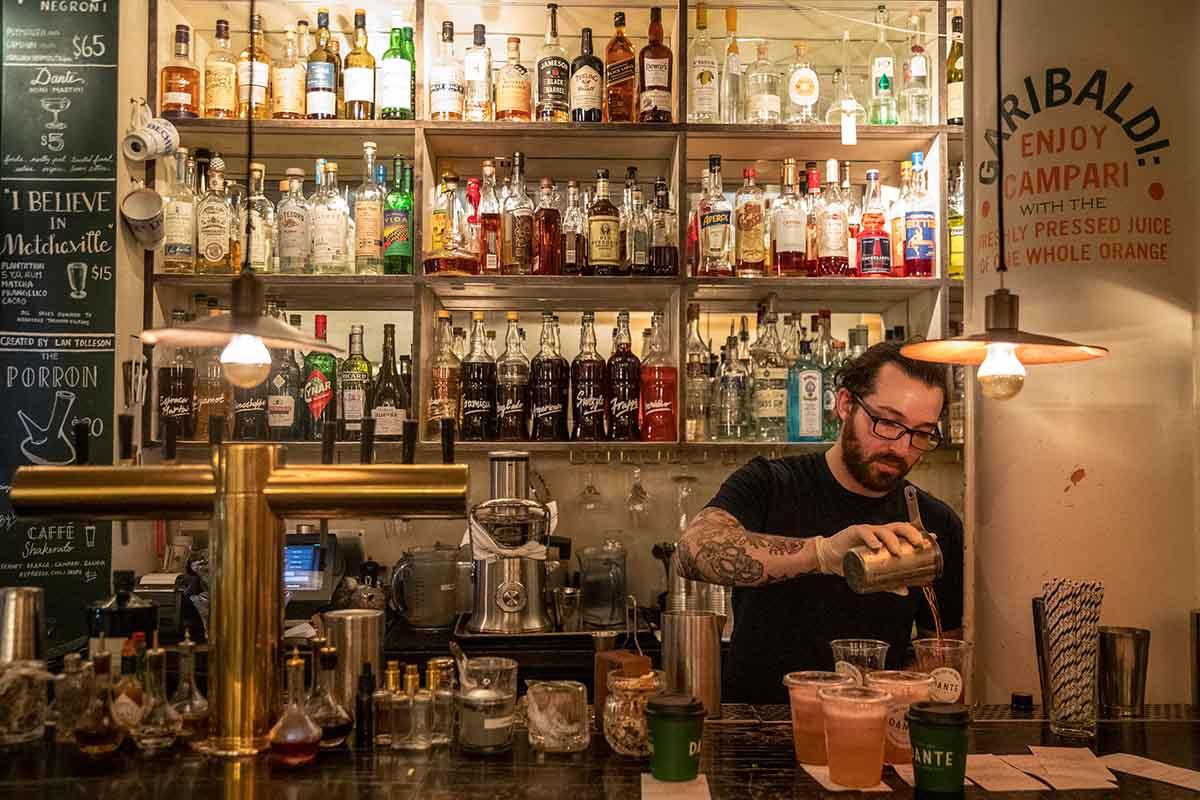 Dante NYC cocktail bar