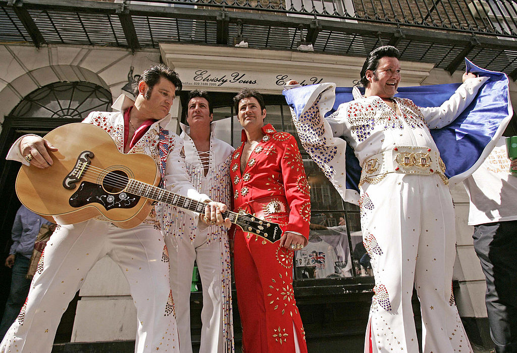 Members of the Elvis Tribute Artists - E