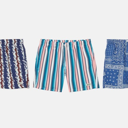 Bather men's swim trunks