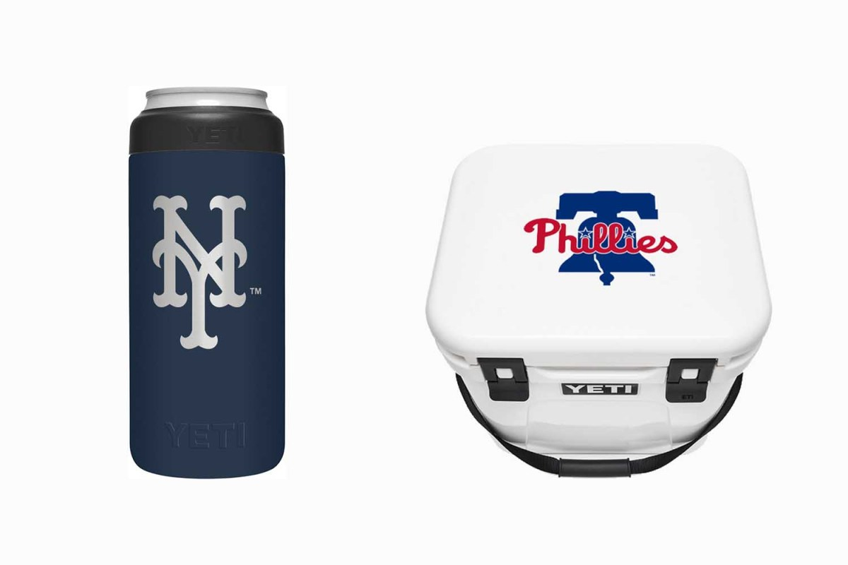 YETI Just Launched a Collection of Official MLB-Licensed Drinkware and Coolers