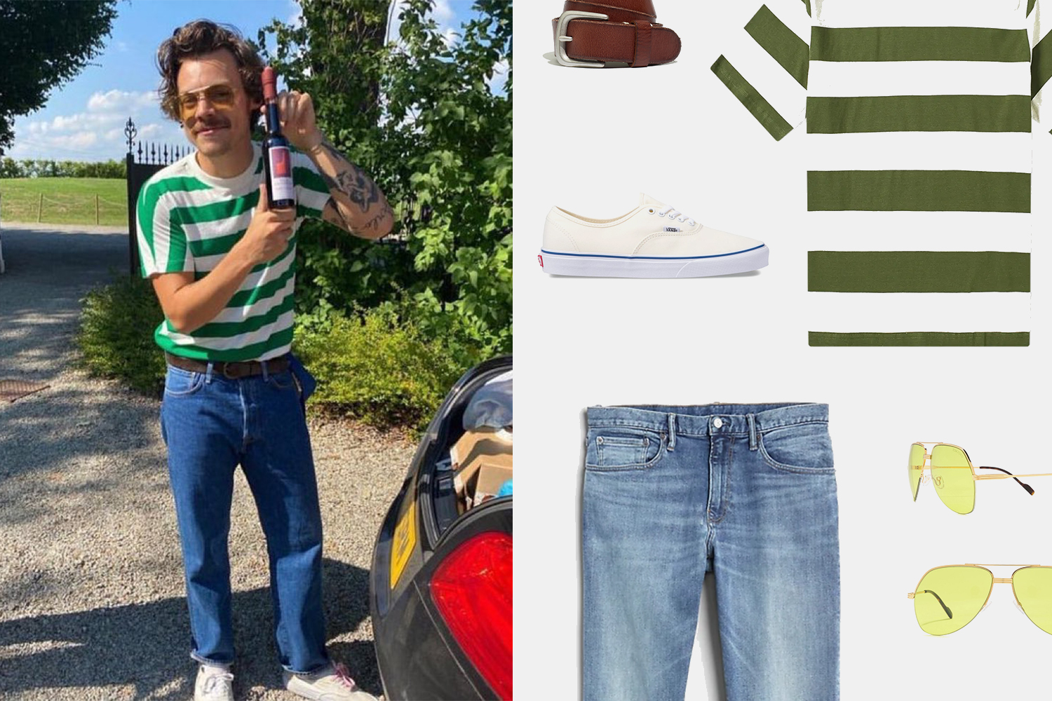 How You Can Recreate Harry Styles' Perfect Summer Outfit