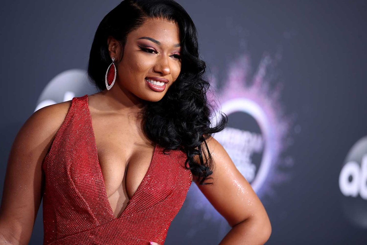 Megan Thee Stallion attends the 2019 American Music Awards at Microsoft Theater on November 24, 2019 in Los Angeles, California.