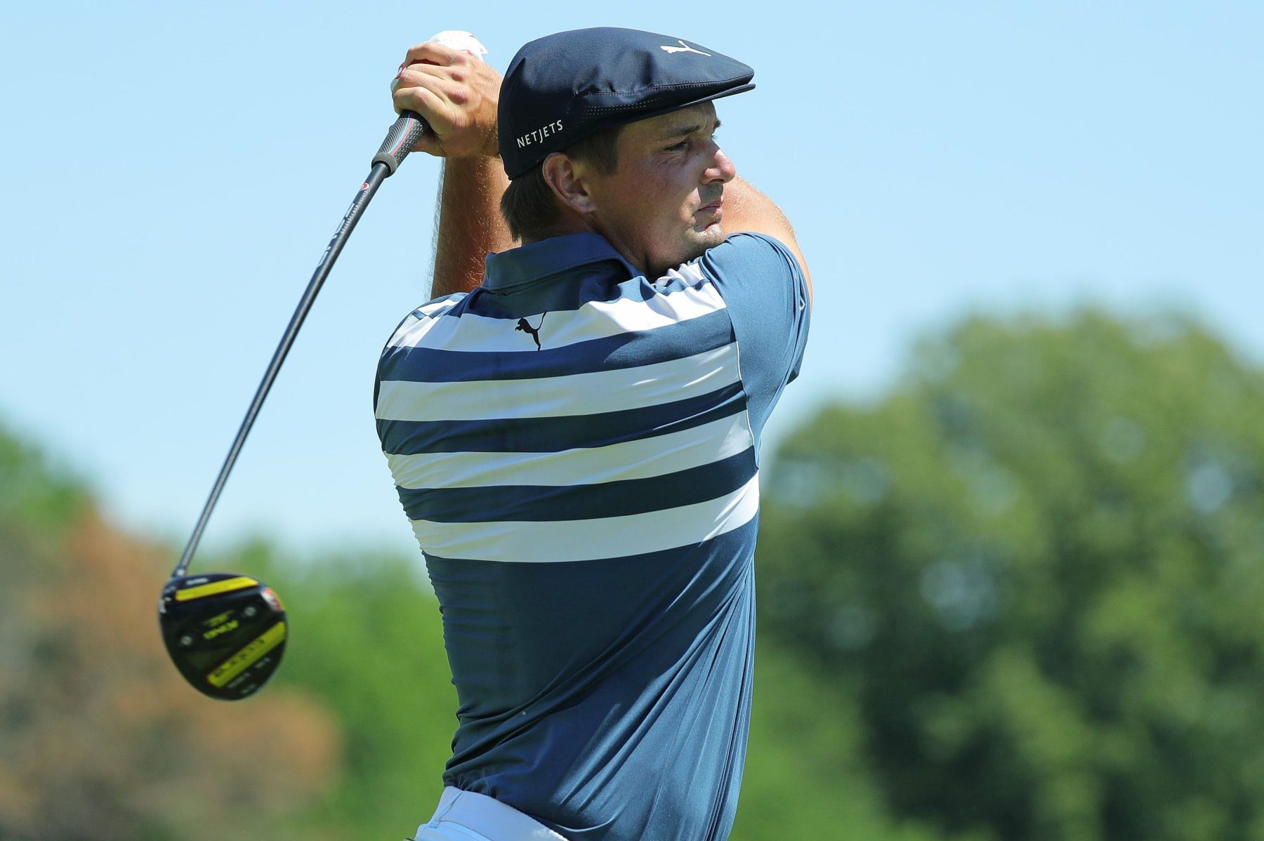 Bulked-Up Bryson DeChambeau Is Out-Driving PGA Peers