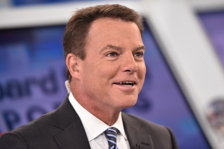 Shepard Smith at Fox News Channel Studios on in New York City.