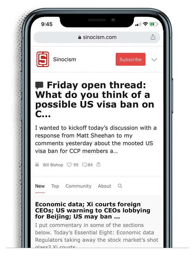 sinocism newsletter