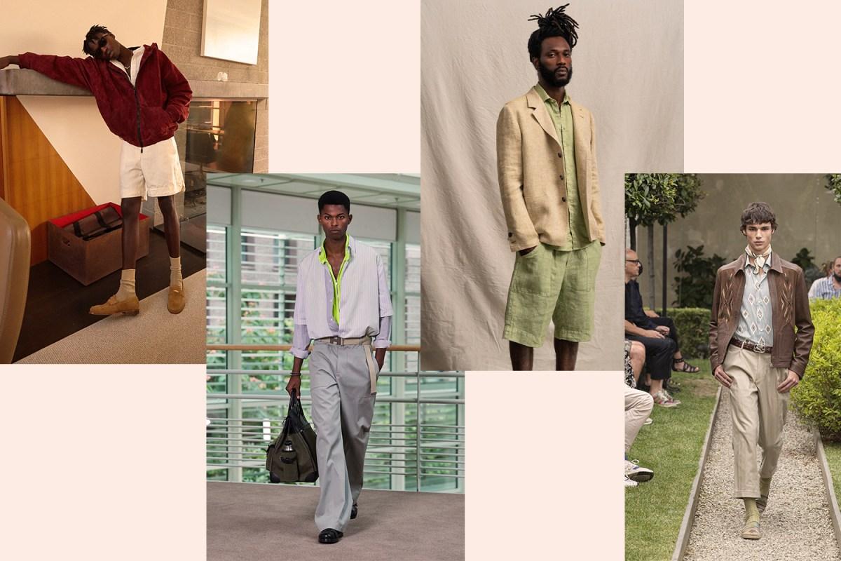 spring menswear trends