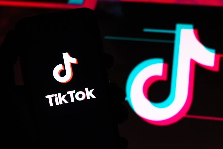tiktok app screen