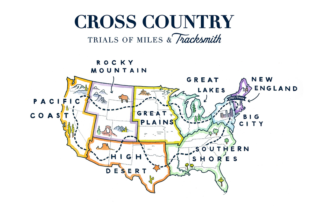 Trials of Miles and Tracksmith Are Hosting a Nationwide Running Tournament This Fall
