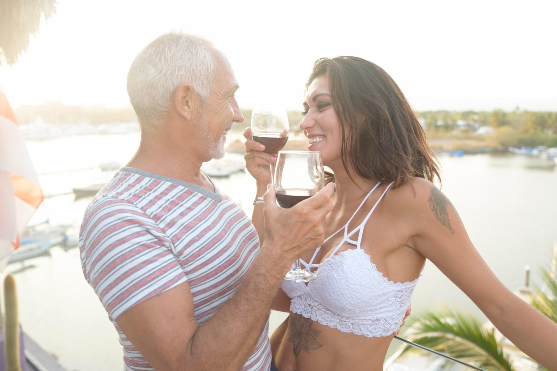 Men seeking young girls older Younger Woman