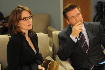 """Tina Fey and Alec Baldwin in """"30 Rock"""" season 7"""