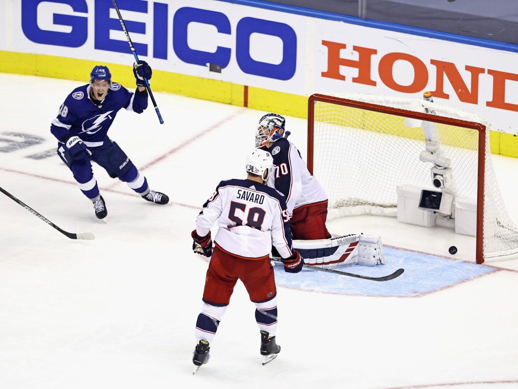First Day of NHL Playoffs Ends With Five-Overtime Thriller