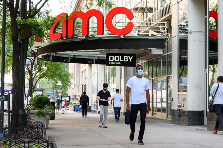 AMC movie theater in New York City