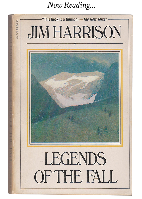 legends of the fall book by Jim Harrison