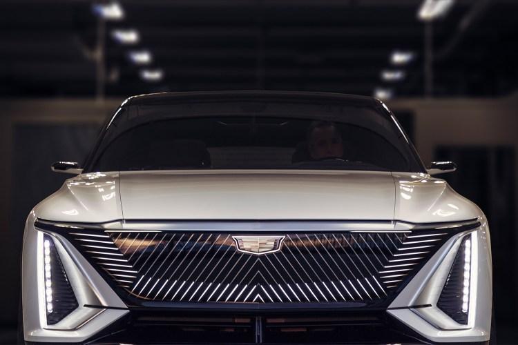 Cadillac Lyriq electric crossover front