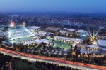 Rendering of the new resort and complex from Hall of Fame Resort & Entertainment Co. in Canton, Ohio