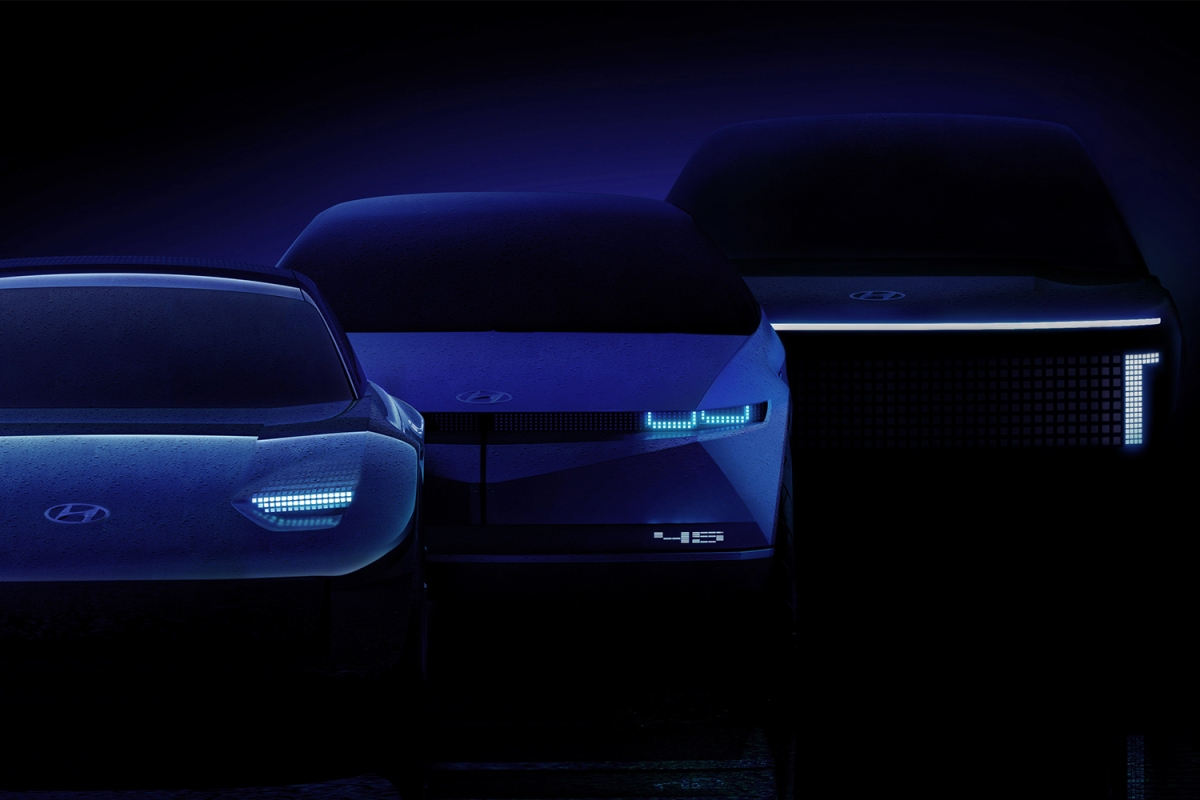 Three new electric vehicles from Hyundai EV sub-brand Ioniq