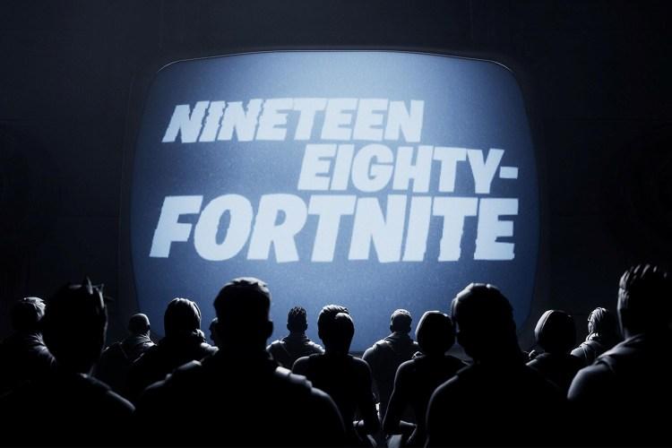 "Fortnite parodies Apple's ""1984"" TV commercial"