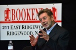 "Pete Hamill promotes ""Tabloid City"" at Bookends Bookstore in May 2011."