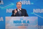 Wayne LaPierre, NRA vice president and CEO, speaks to guests at the NRA-ILA Leadership Forum at the 148th NRA Annual Meetings & Exhibits on April 26, 2019 in Indianapolis, Indiana