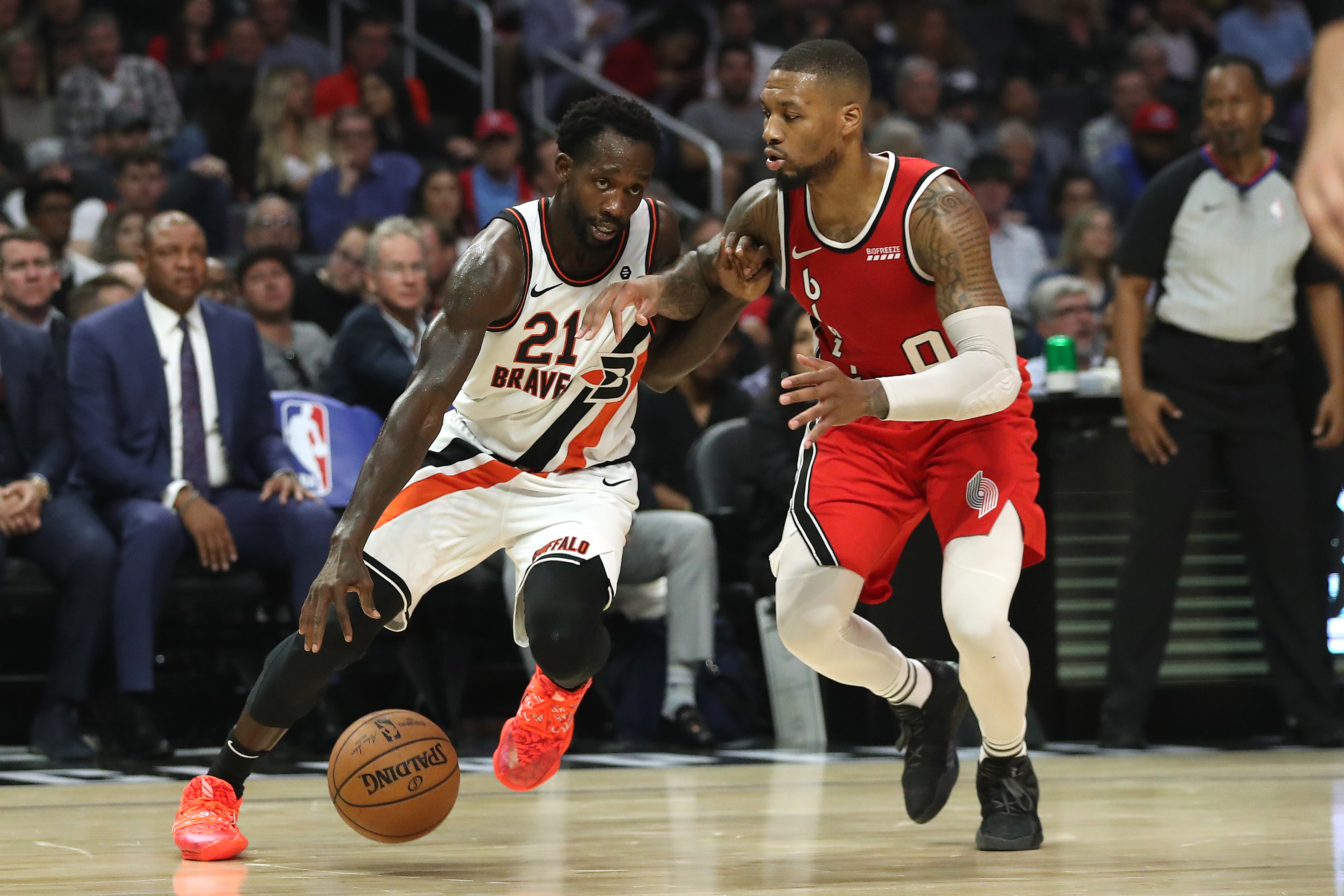 Damian Lillard Pat Beverley And Paul George Are Feuding On Instagram Insidehook