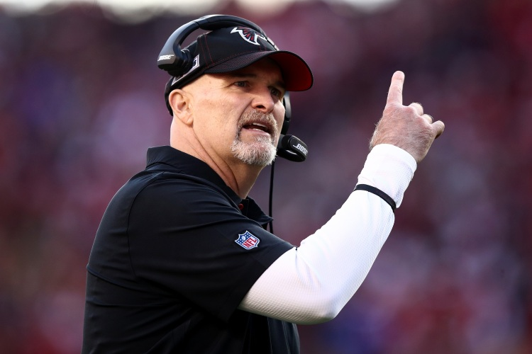 Dan Quinn of the Falcons