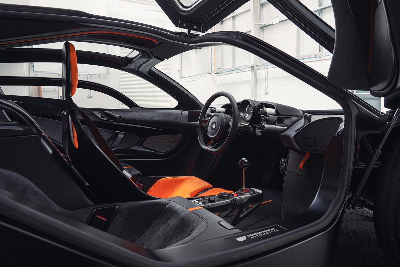 Gordon Murray Automotive T.50 Supercar Interior