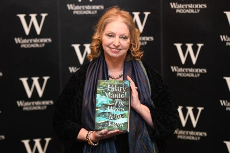 Hilary Mantel Signs Copies Of Her New Book The Mirror And The Light