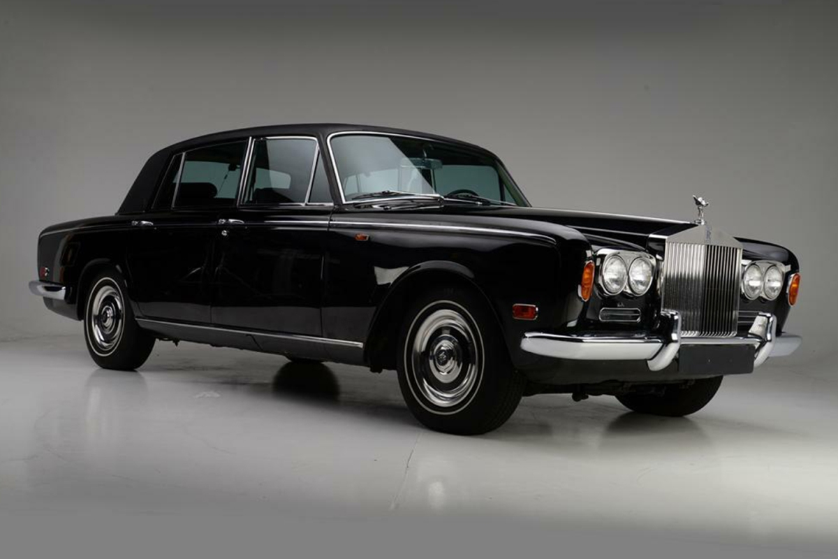 Johnny Cash 1970 Rolls-Royce Silver Shadow at Barrett-Jackson auction